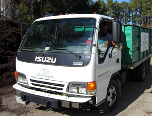 YLS Landscape Contractor Truck in Hampton, Virginia